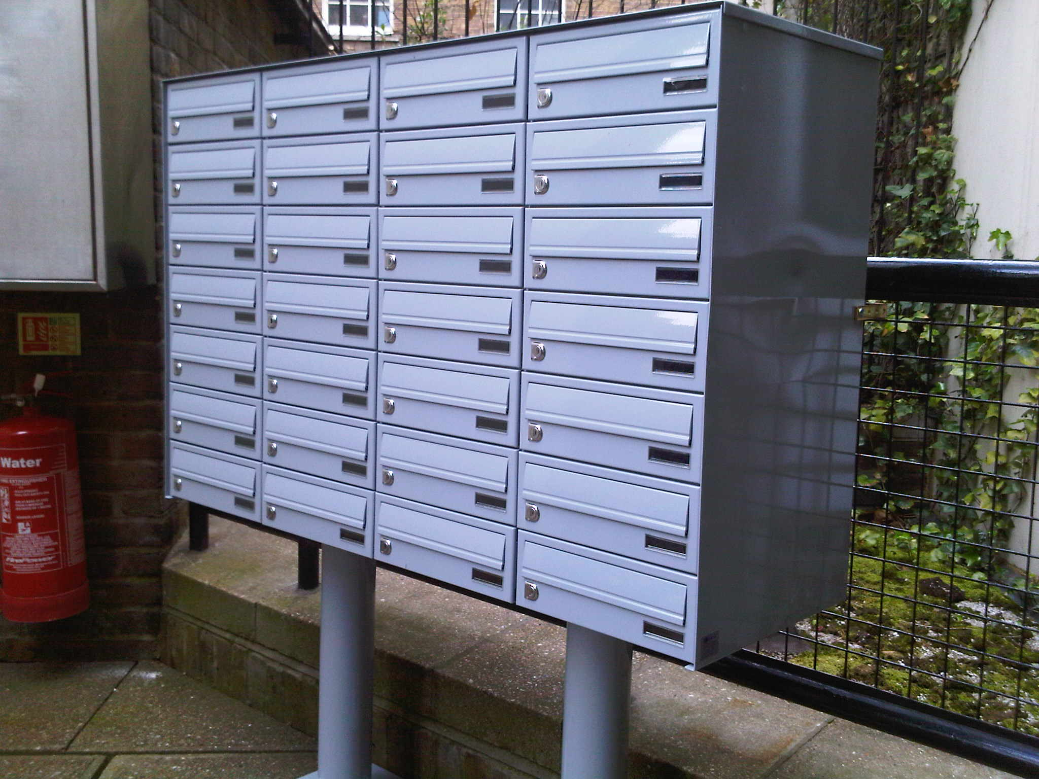 Anti Theft System >> Freestanding Letter Boxes | The Postbox Shop | Range