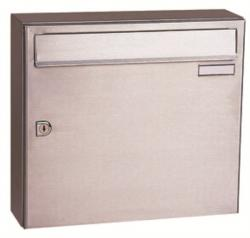 CITY 1 - Stainless Steel Letterbox