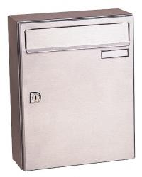 CITY 2 Stainless Steel Letterbox