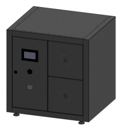 MySmartBox - Unit of 2 lockers for up to 5 apartments