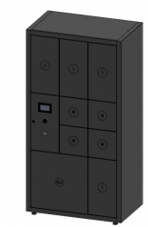 MySmartBox - Unit of 9 lockers for up to 30 apartments
