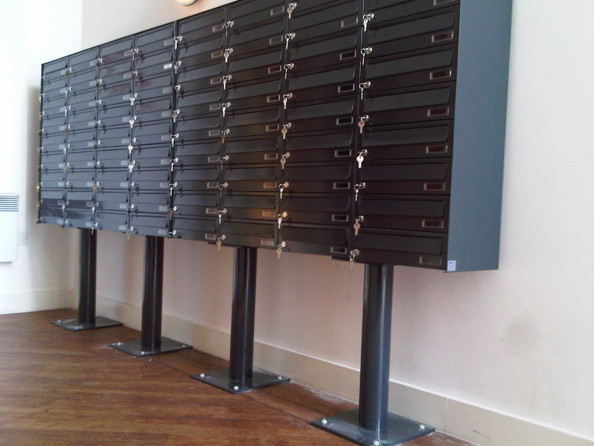 Freestanding Letter Boxes