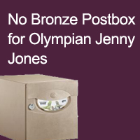Bronze Postbox Turned Down for Olympian Jenny Jones...