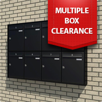 Clearance on a selection of our Multiple Letterbox Banks!!!