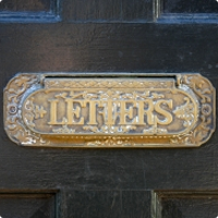 Need a Letterbox....tired of your traditional Letterplate?
