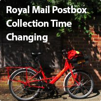 Royal Mail set to change collection times...?