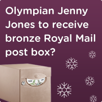 South Gloucestershire Council request Royal Mail bronze Postbox in Olympian Jenny Jones honour