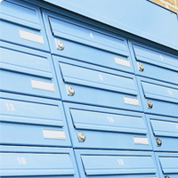 Multiple Mailboxes from Postbox Shop are a must for Student Accommodation