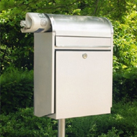 Discover a Designer Letterbox for a sleek Modernist Look