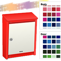 Buy a Unique Letterbox…custom painted with your favourite colour