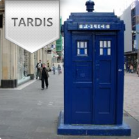 Homeowner Builds His Own Dr Who Art Deco Postbox