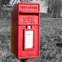 Love your local village...love your postbox!