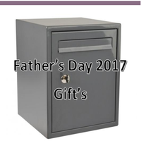 Father's Day Gifts at Postbox Shop – Ideal for your Security Conscious Dad